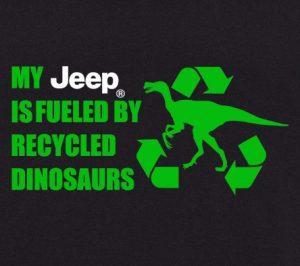 grafika dino recycle